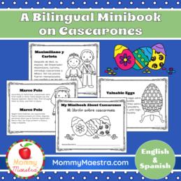 Cascarones-Bilingual-Minibook-MommyMaestra